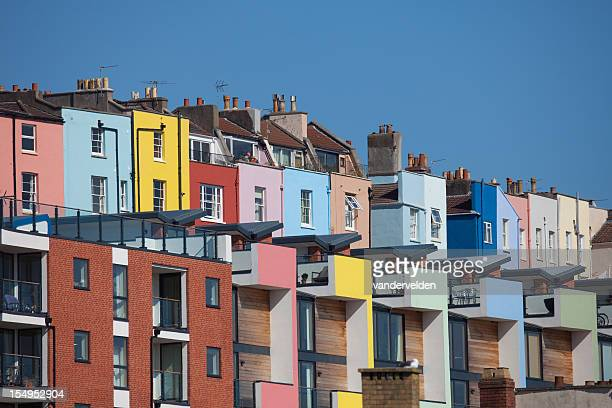 Colourful And Crowded City Living