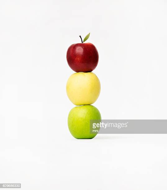 Colourful apples