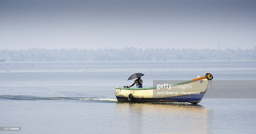 Colourful Backwaters : Stock Photo