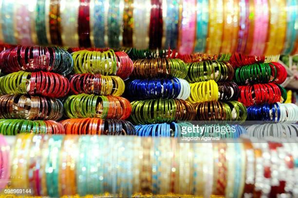 Colourful bangles, India