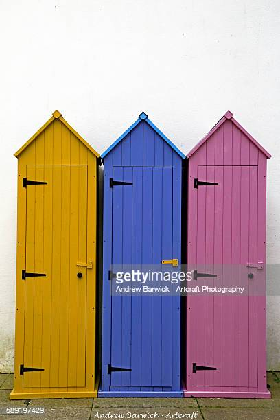 Fowey stock photos and pictures getty images for Beach hut style
