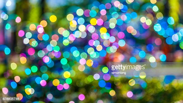 Colourful  blurry lights