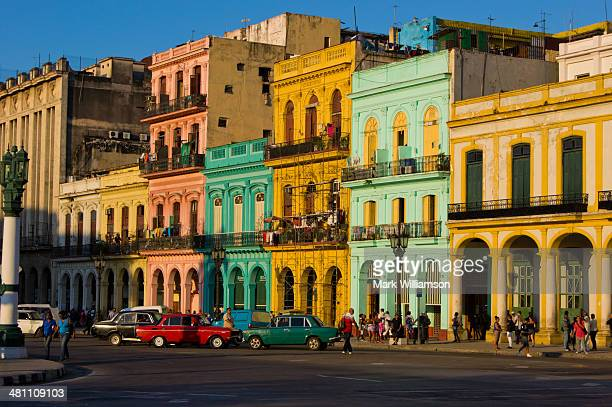 Colourful buildings in Havana.
