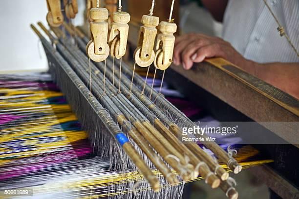 Colourful Bukhara silk