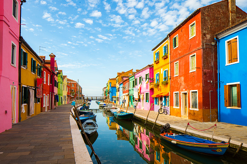 Colourful Burano - gettyimageskorea