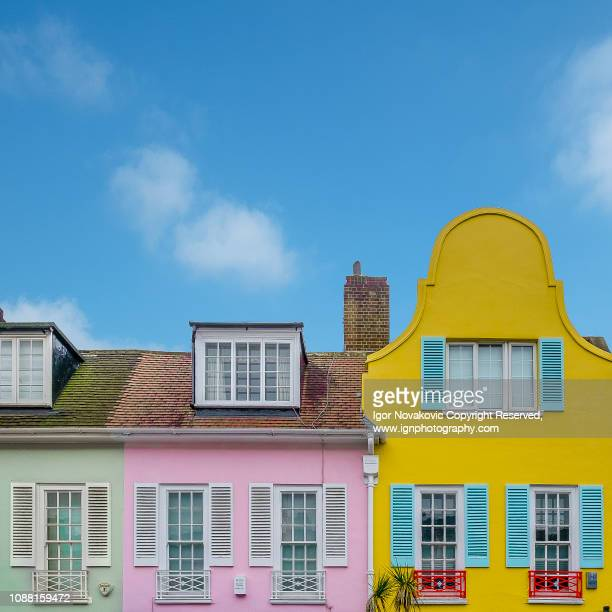 colourful chelsea - kensington and chelsea stock pictures, royalty-free photos & images