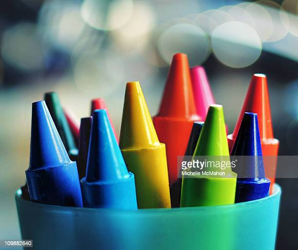 Colourful Crayons..