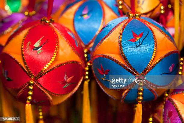 Colourful decorative Chinese baubles China