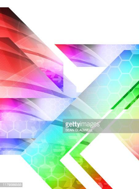 colourful digital design - cover design stock pictures, royalty-free photos & images