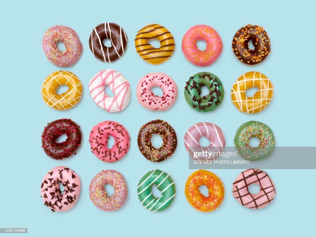 Colourful doughnuts : Stock Photo