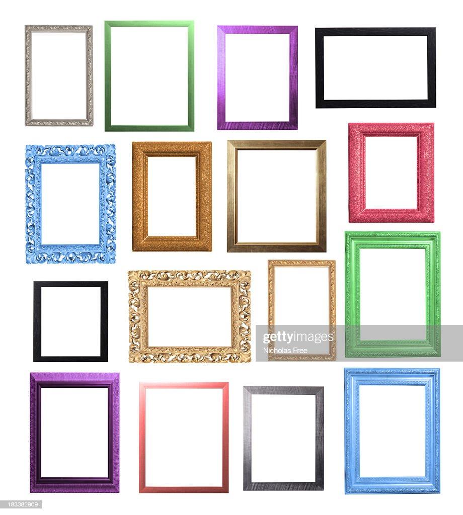 c16b4c229c Colourful Frame Selection   Stock Photo