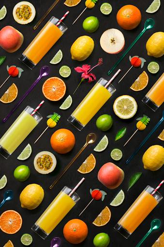 Colourful fruit juice. - gettyimageskorea