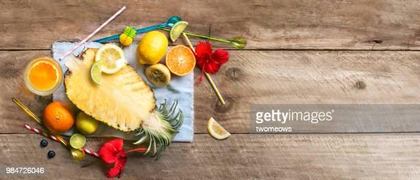 colourful fruit juice. - 果肉 ストックフォトと画像