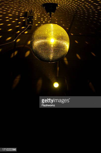 colourful glitter mirrorball in disco new 2 - disco ball stock photos and pictures