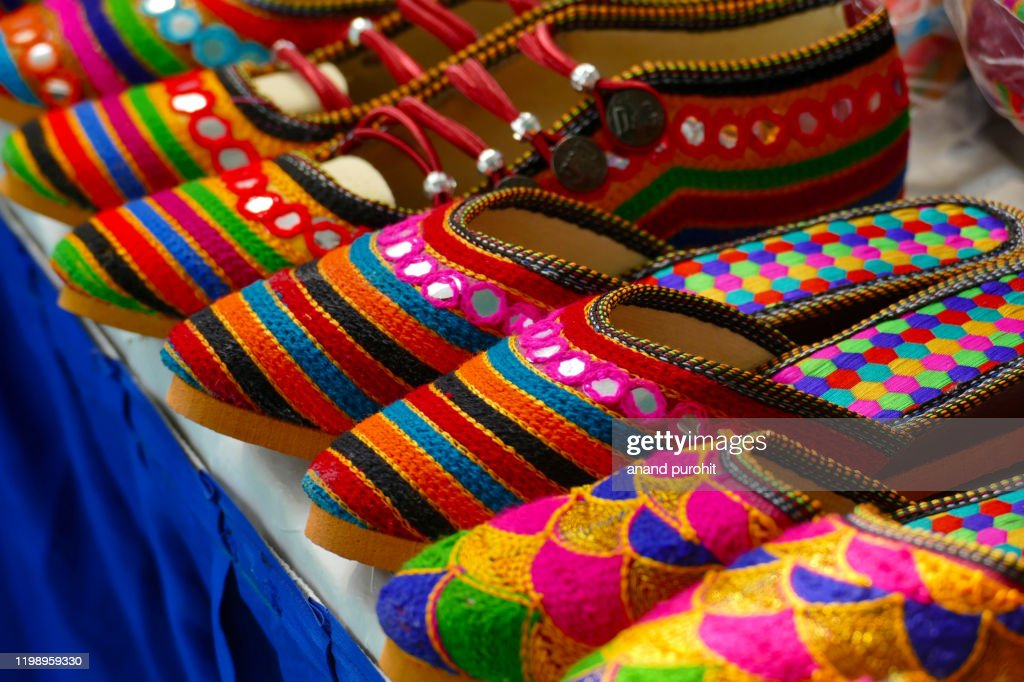 Colourful Handicraft Art, India : Stock Photo