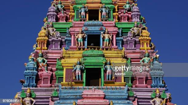 Colourful Hindu Temple