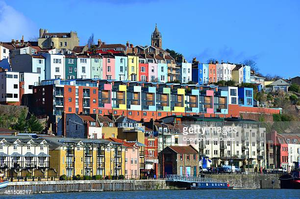 colourful hotwells - bristol stock photos and pictures