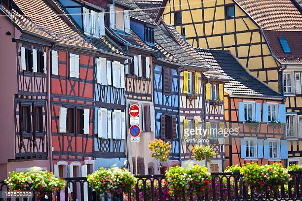 Colourful houses in Colmar France