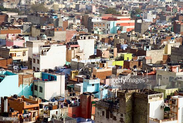 Colourful indian city