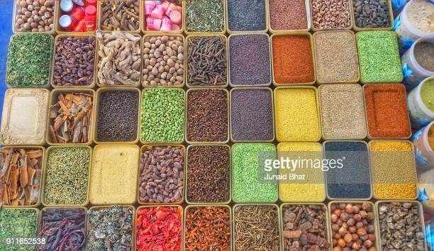 Colourful Indian Spices at New Delhi India