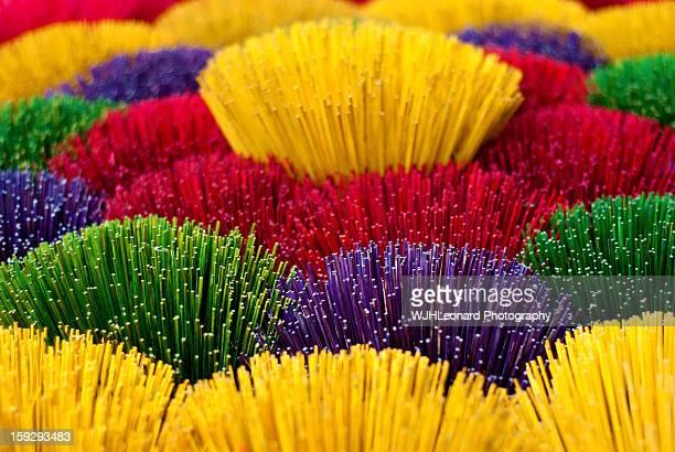 Colourful Joss-Sticks