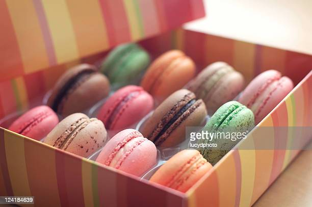 Colourful macarons