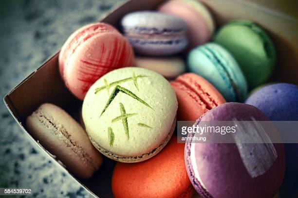 Colourful Macaroon