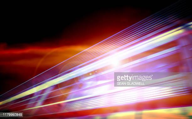 colourful motion line blur - motion stock pictures, royalty-free photos & images
