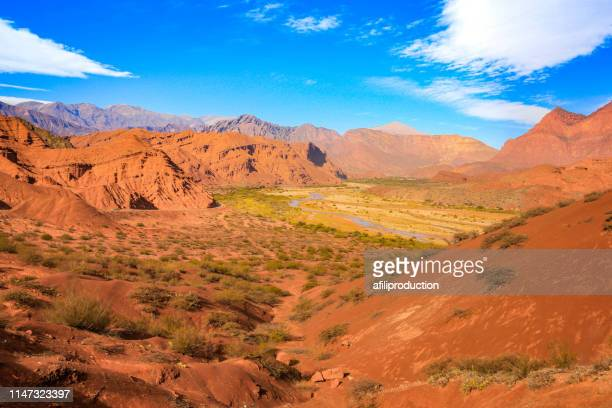 colourful mountains in salta - salta argentina stock photos and pictures