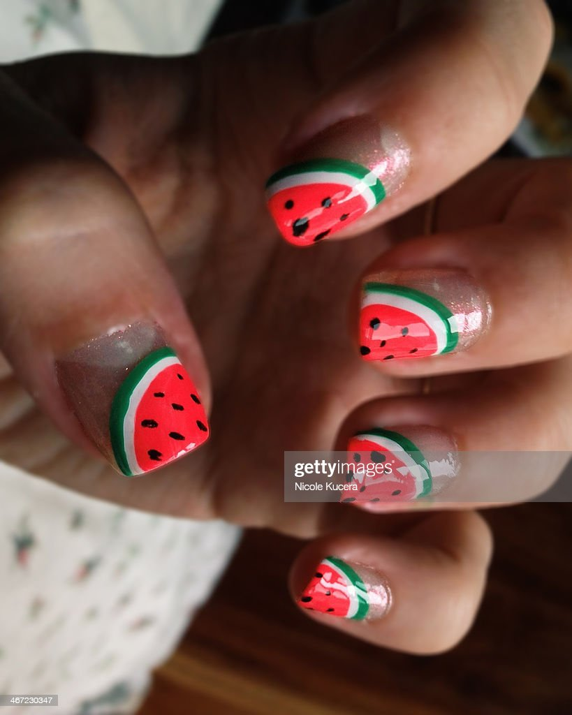Colourful Nails : Stock Photo
