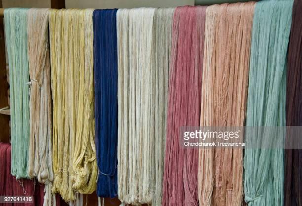 Colourful of silk cotton