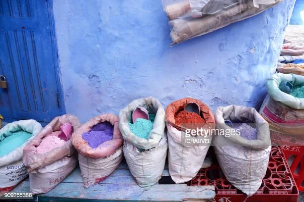 colourful powder morocco - novembro azul - fotografias e filmes do acervo