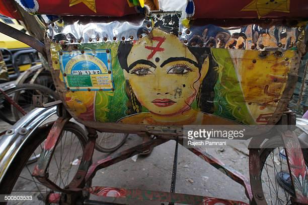 Colourful Rickshaw of Dhaka, Bangladesh.