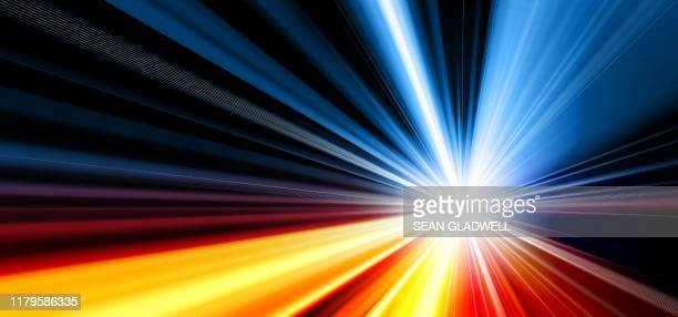 colourful starburst effect - zoom background stock pictures, royalty-free photos & images