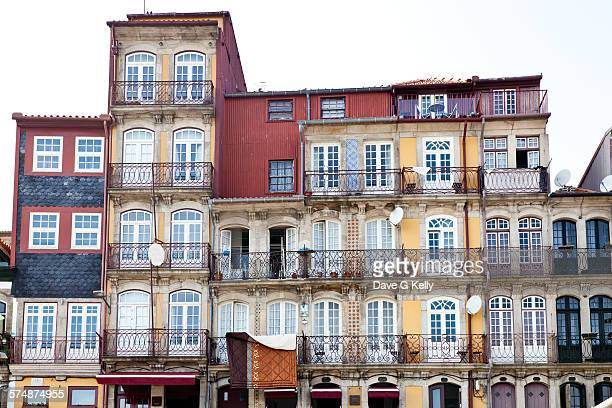 Colourful townhouses in the Ribera