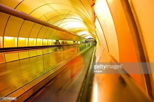 colourful walkway