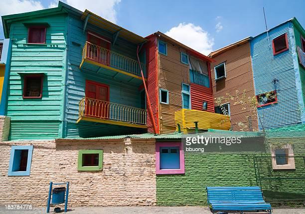 Colours of La Boca houses (Buenos Aires)