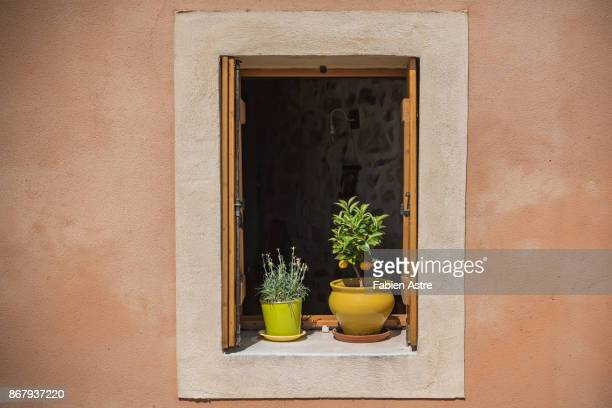 colours of southern france. - herault stock photos and pictures