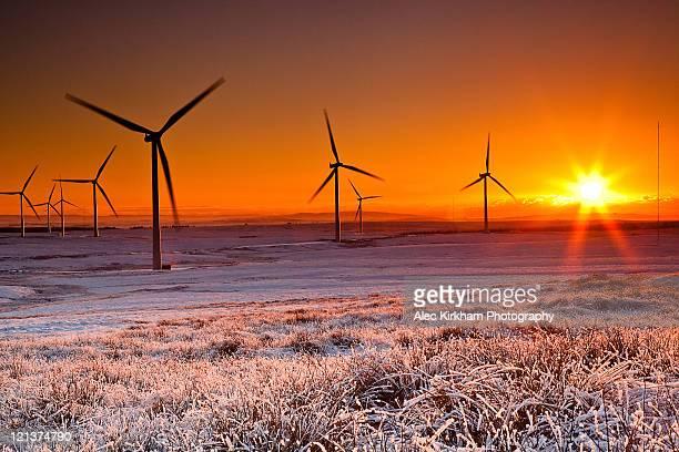 Colours of windfarm