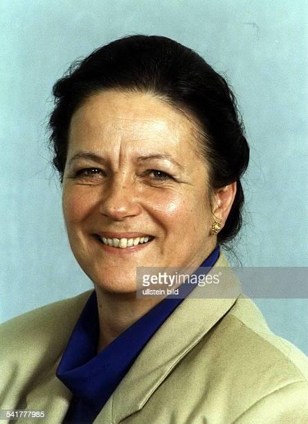 COLPolitikerin SPD DJustizministerin von SachsenAnhalt Porträt August 1998