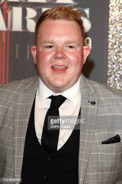 Colson Smith arrives on the red carpet during The British Soap Awards 2019 at The Lowry Media City Salford in Manchester