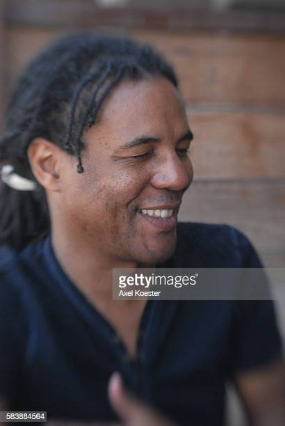 """Colson Whitehead, one of the country's most acclaimed under-40 authors, has just released his latest novel, """"Sag Harbor"""", is photographed in Los..."""