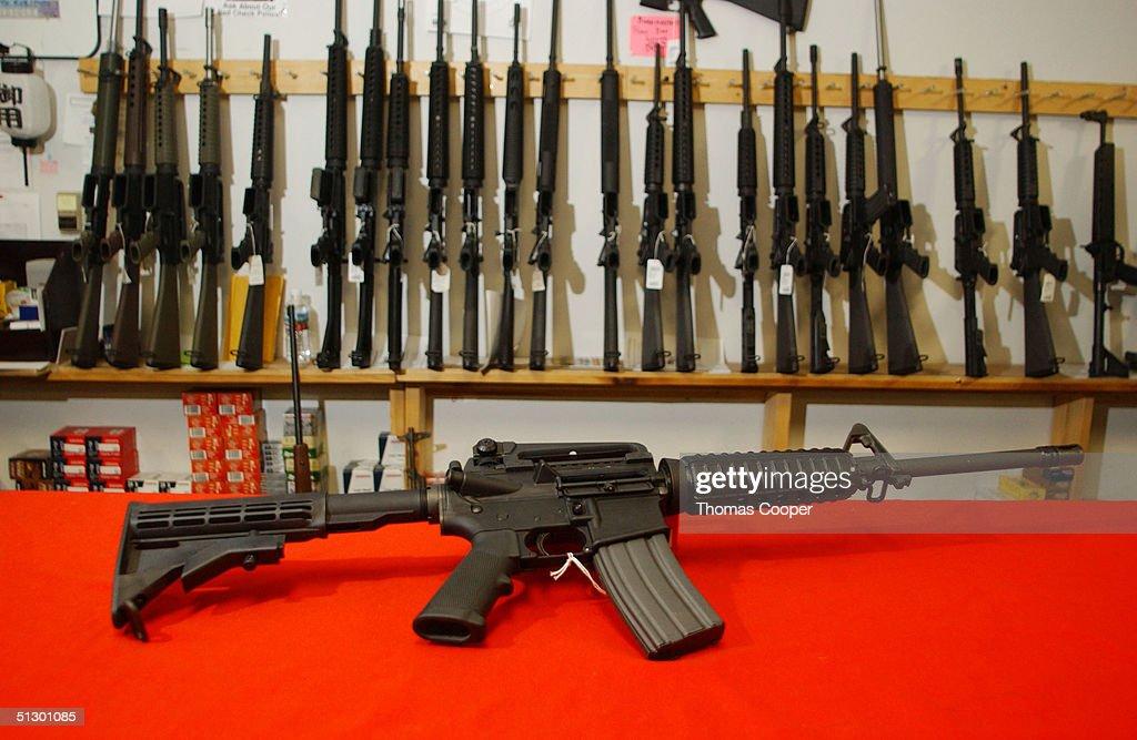 Assault Weapons Ban Expires : News Photo
