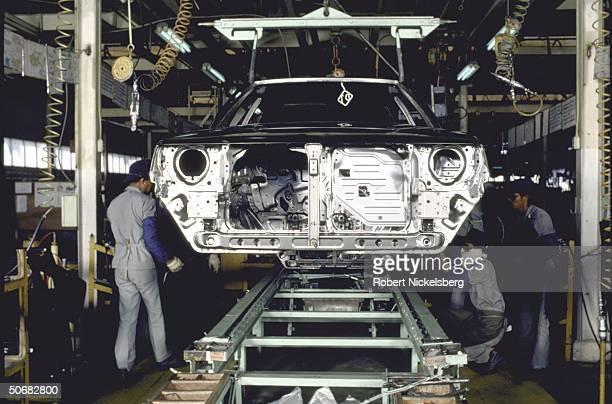 Colt cars destined for Canadian market being manufactured for Chrysler under joint JapaneseThai venture at Mitsubishi Sittipol Motors plant