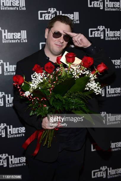 Colt Johnson attends his official divorce party at the Crazy Horse 3 Gentlemen's Club on March 01 2019 in Las Vegas Nevada