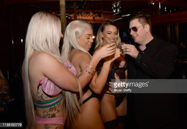 Colt Johnson hosts his official divorce party at the Crazy Horse 3 Gentlemen's Club on March 01 2019 in Las Vegas Nevada