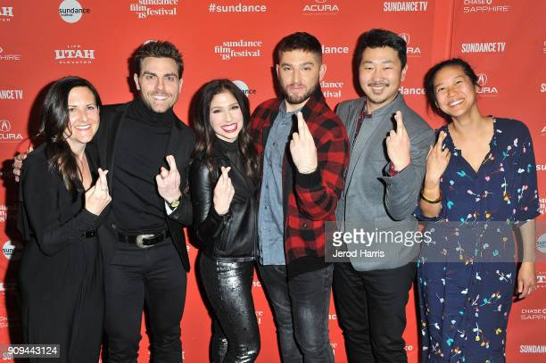 Colt Prattes Mary Pat Bentel Shoshannah Stern Josh Feldman Andrew Ahn and Winnie Kemp attend the Indie Episodic Program 2 during the 2018 Sundance...