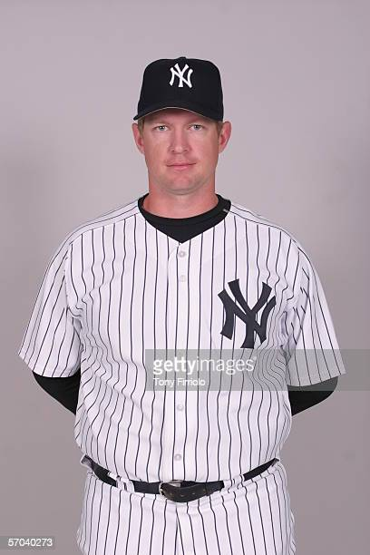 Colter Bean of the New York Yankees during photo day at Legends Field on February 24 2006 in Tampa Florida