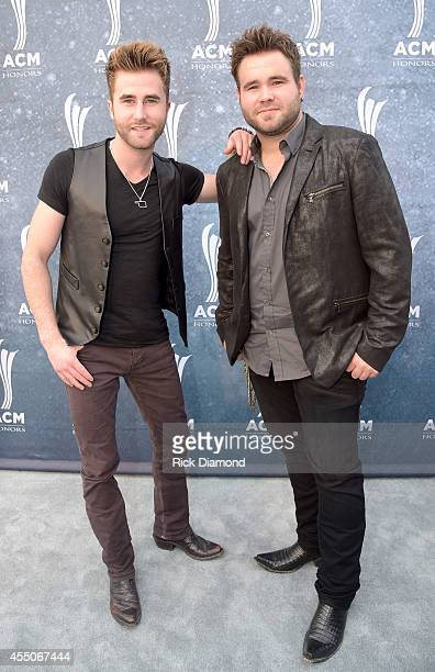 Colton and Zach Swon of The Swon Brothers attend the 8th Annual ACM Honors at Ryman Auditorium on September 9 2014 in Nashville Tennessee