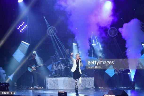 Colton Dixon performs onstage at the 5th Annual KLOVE Fan Awards at The Grand Ole Opry on May 28 2017 in Nashville Tennessee